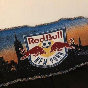 Redbull | New York soccer blanket throw